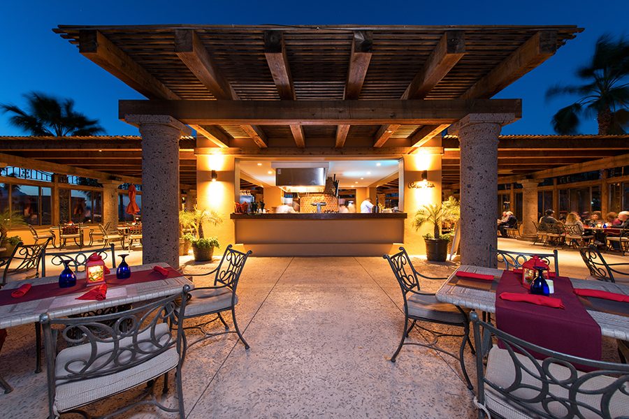 casa mia restaurant at villa del palmar at the islands of loreto