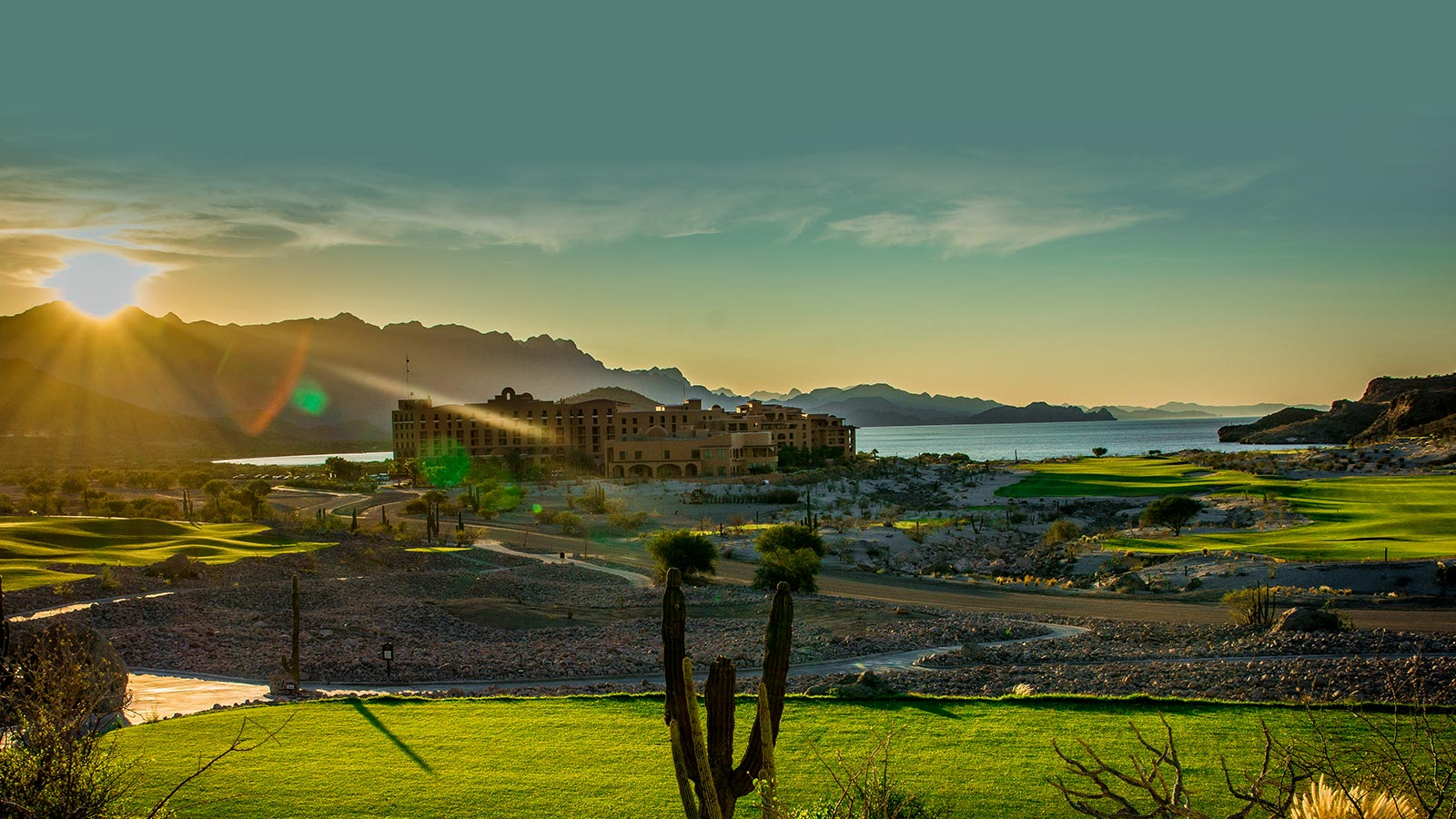 Sunset at TPC Danzante Bay - Loreto