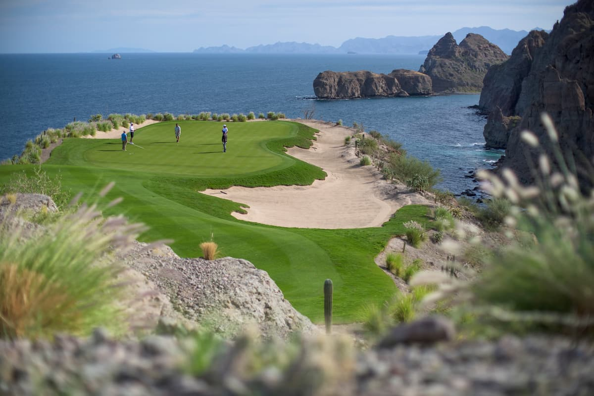 Loreto Mexico Golf Courses - TPC Danzante Bay