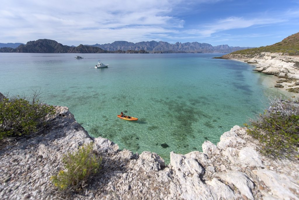 Activities in Loreto, Mexico - Kayak