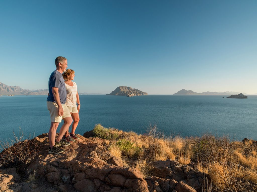 Hiking in Loreto, Mexico