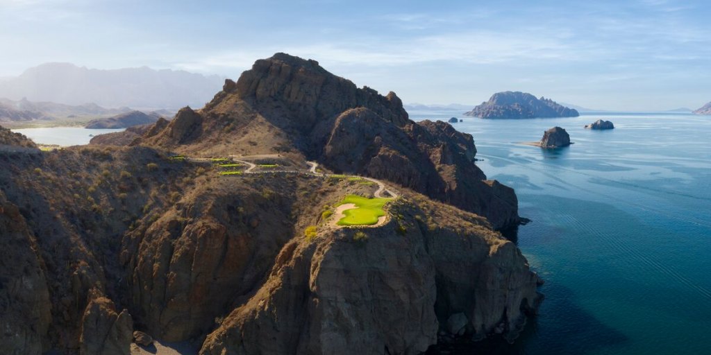 TPC Danzante Bay Loreto Mexico Putting Course