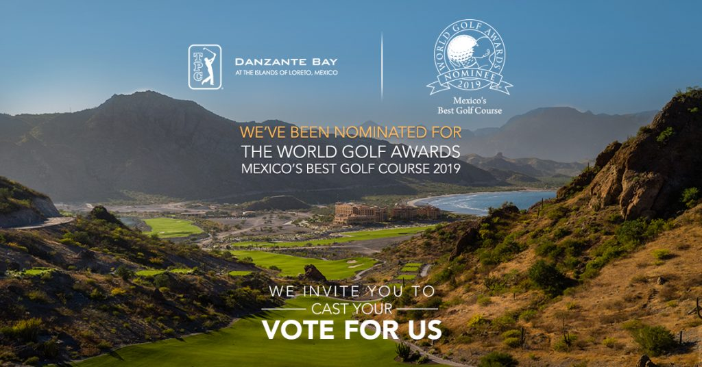 TPC Danzante Bay nominated as Mexico's Best Golf Course 2019