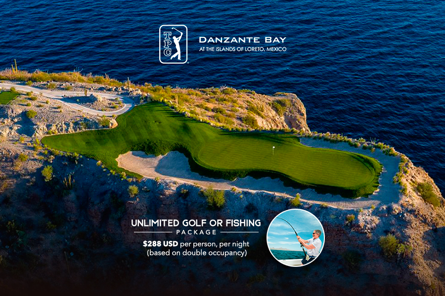 TPC Danzante Bay Unlimited Golf or fishing package