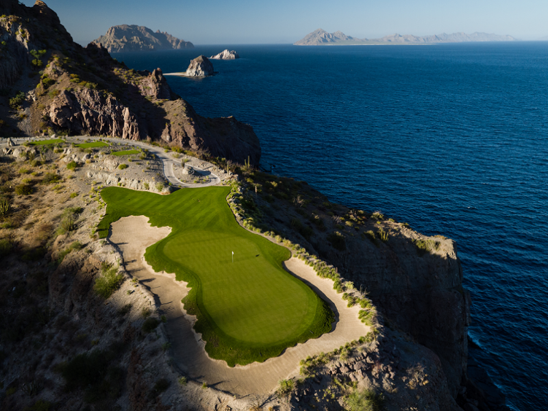 the 17th hole at TPC Danzante Bay