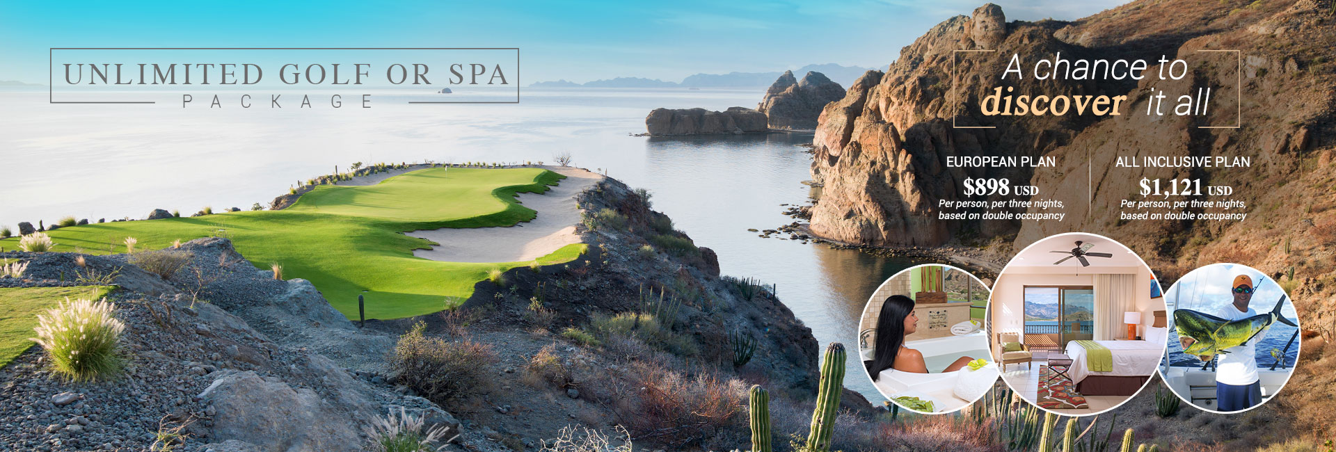 TPC Danzante Bay Unlimited Golf or Spa package