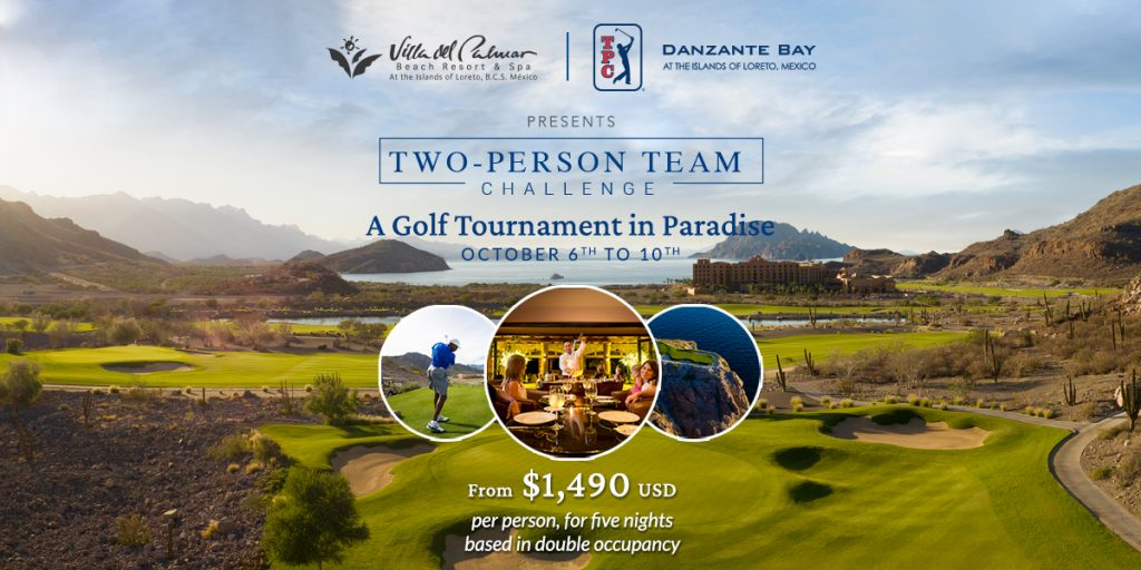 Two-person Team Challenge Golf Tournament in Loreto Mexico