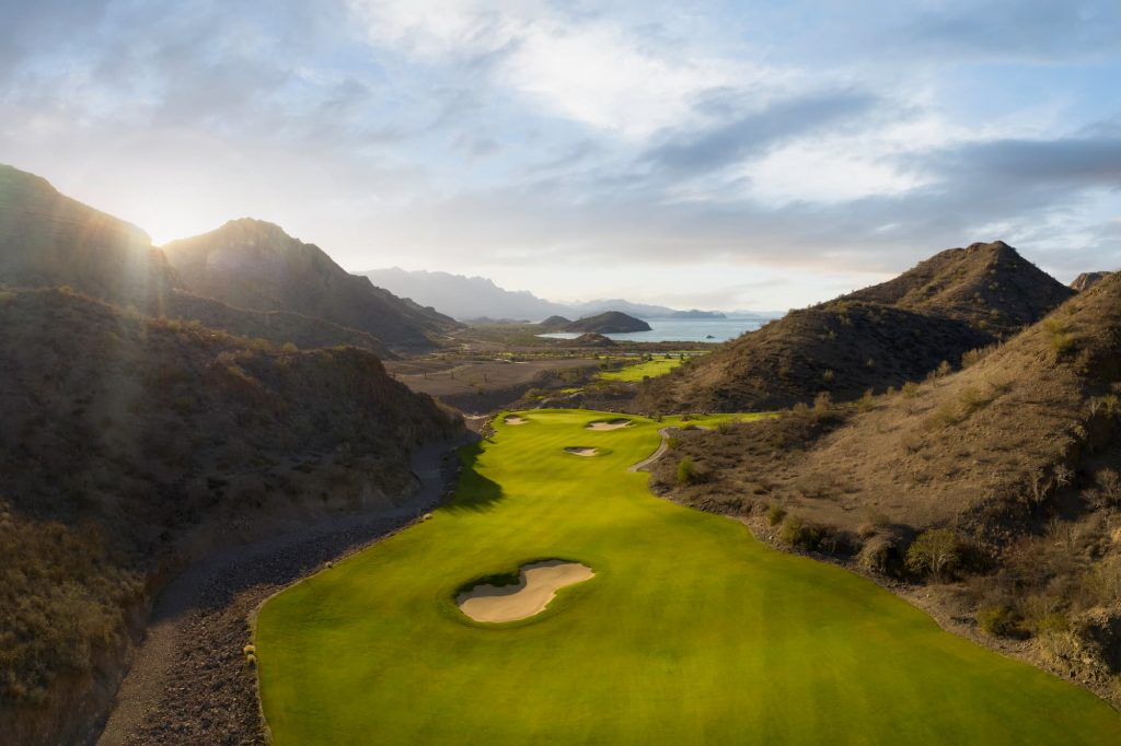 Best Mexico Golf Course, TPC Danzante Bay in Loreto