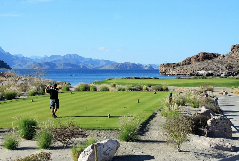 Play golf at TPC Danzante Bay Loreto Mexico