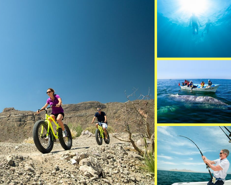 outdoor activities in loreto mexico