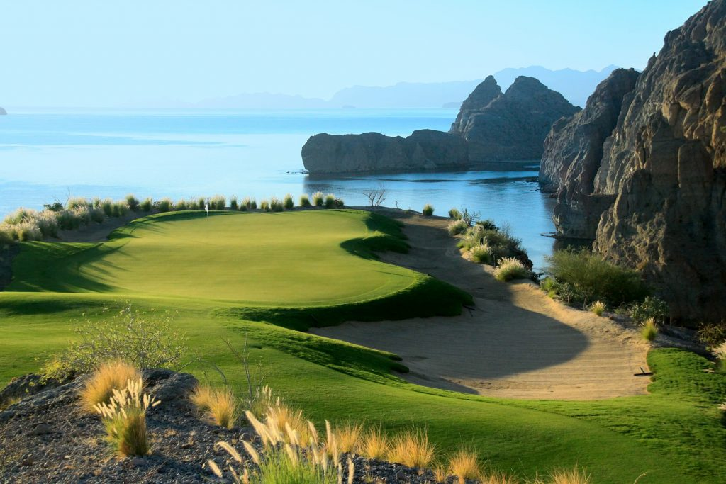 Hola 17 TPC Danzante Bay Loreto Mexico Golf Course