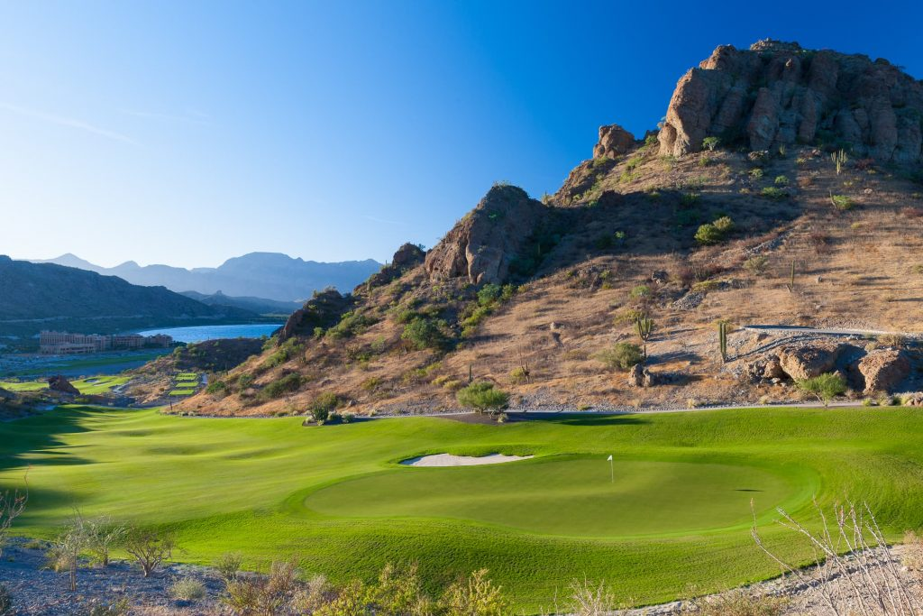Loreto Mexico Golf Course TPC Danzante Bay Hoel 16
