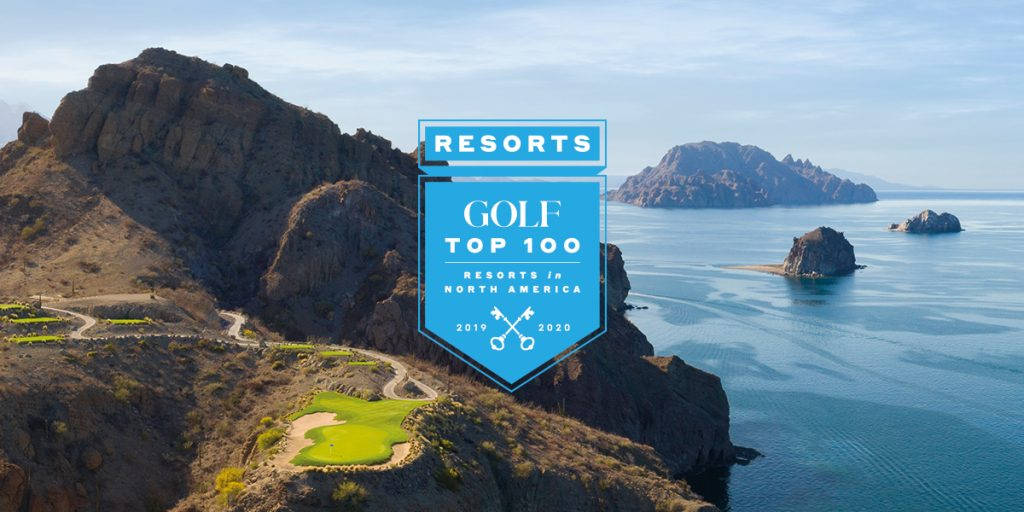 VILLA DEL PALMAR AT THE ISLANDS OF LORETO AMONG GOLF MAGAZINE'S TOP 100 GOLF RESORTS