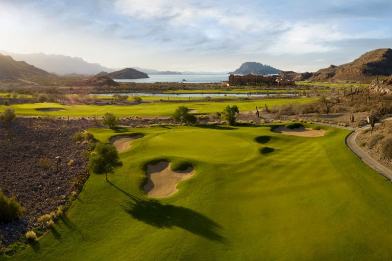 TPC Danzante Bay Loreto Mexico Golf Course Hole 8