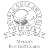 Mexico's Best Golf Course 2019 by World Golf Awards