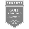 Top 100 Golf resorts in North america 2019 - 2020