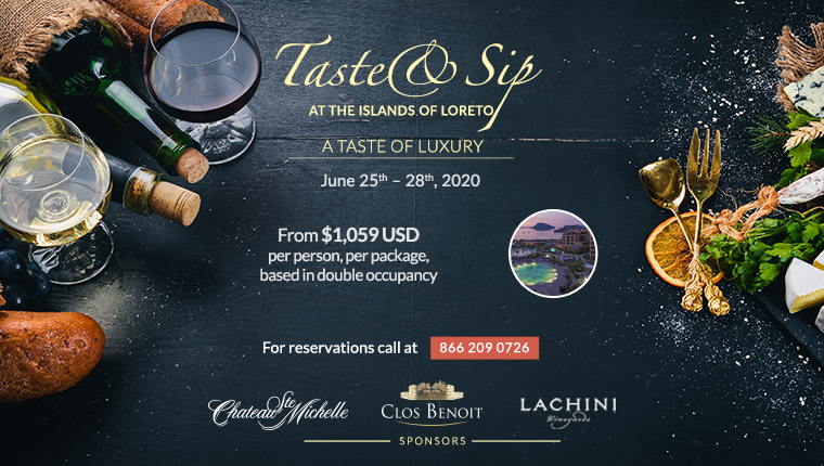 taste and sip at the islands of loreto mexico