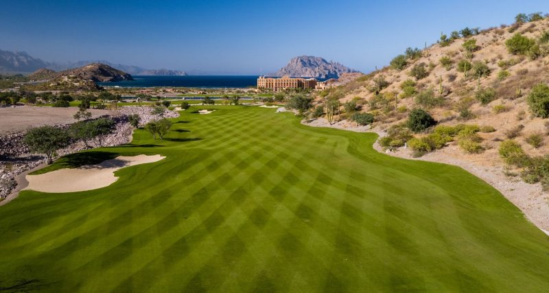 TPC Danzante Bay Golf Course Hole 8, Loreto Mexico