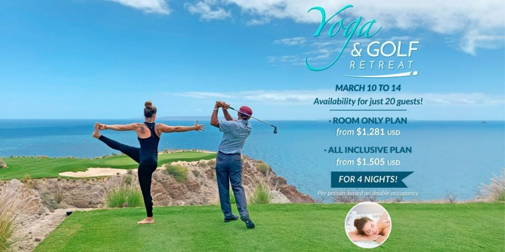 Villa del Palmar at the Islands of Loreto and TPC Danzante Bay To Host Yoga and Golf Retreat