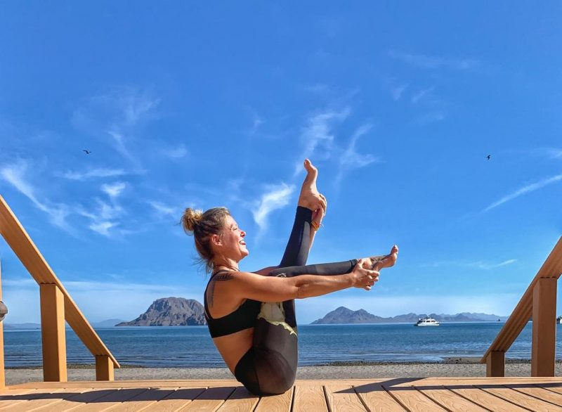 Yoga in Loreto Mexico at Villa del Palmar Loreto