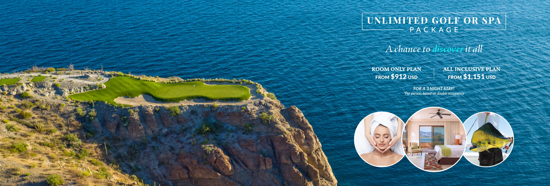 Villa del Palmar Loreto Unlimited Golf or Spa