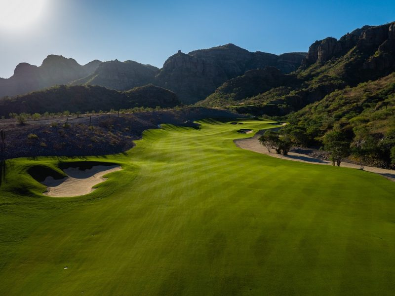 hole 2 tpc danzante bay at the islands of loreto, mexico best golf course