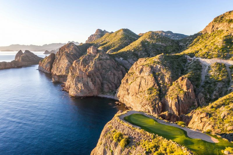 winter golf courses in mexico tpc danzante bay