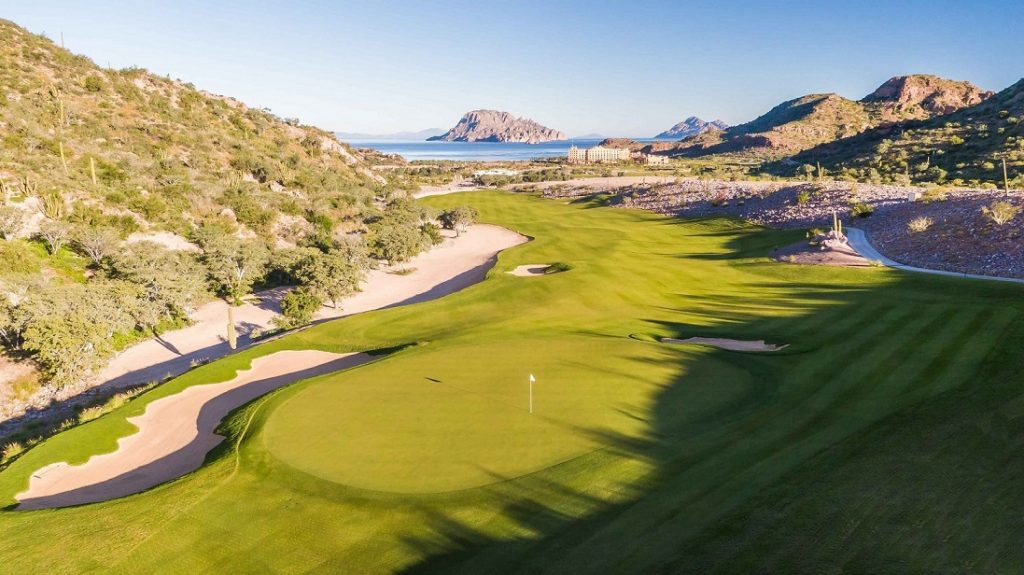 golf course tpc danzante bay in loreto mexico