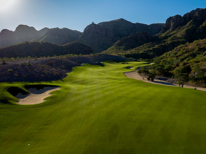 Golf Course in Loreto TPC Danzante Bay Hole 2