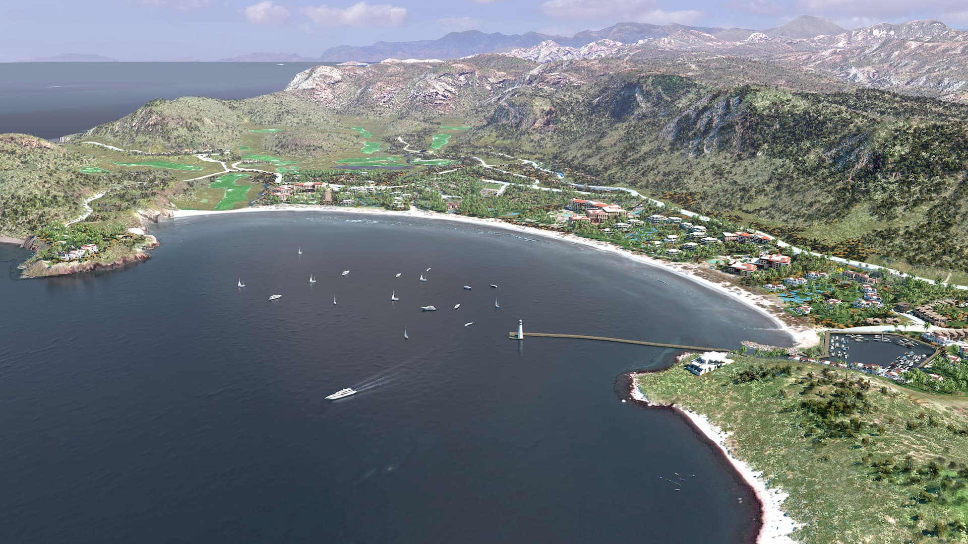 3d danzante bay course