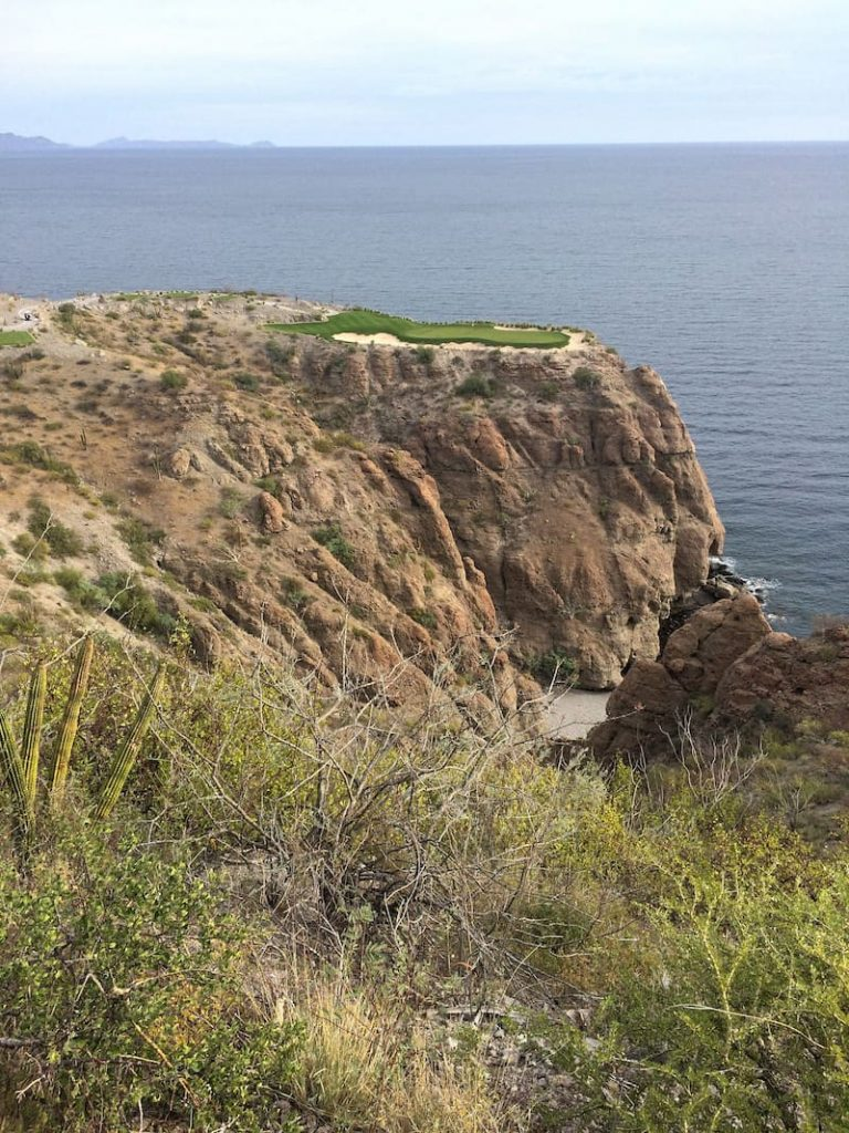 Danzante Bay Hole 17 by Ted McIntyre