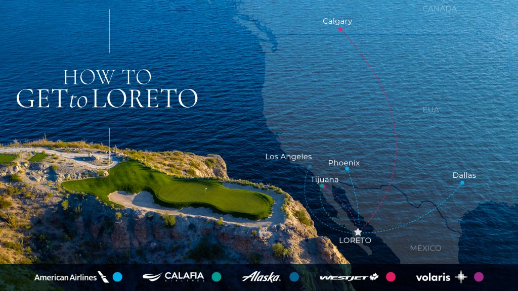 New Flights to Loreto from Dallas and Phoenix with American Airlines