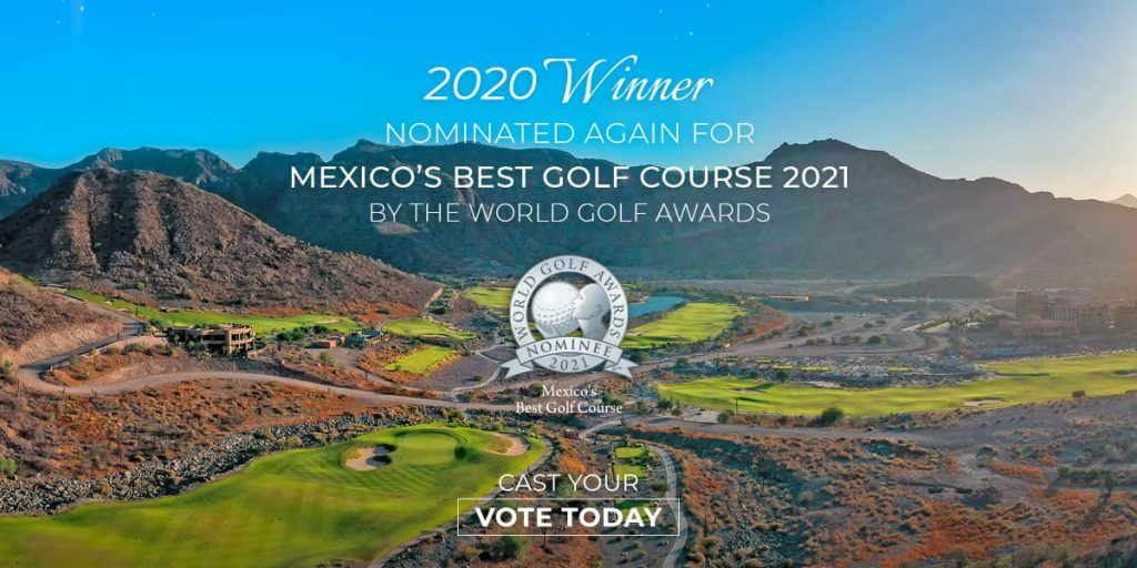 TPC Danzante Bay Nominated in World Golf Awards 2021